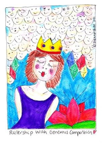 hr-Queen Ruler-All Rights Reserved Shannon Bush 2011